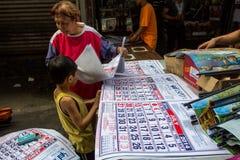 Preparando calendario per il nuovo anno Immagine Stock Libera da Diritti