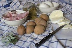 Preparando o alimento Fotos de Stock Royalty Free