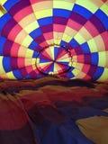 Preparando o balão de ar quente Imagens de Stock