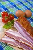 Preparando o pequeno almoço Foto de Stock Royalty Free
