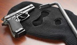Preparando per il crimine Immagini Stock Libere da Diritti