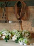 Preparando per le nozze del granaio Immagine Stock
