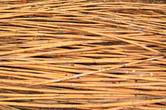 Preparando a pilha de bambu Fotos de Stock