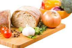 Preparando uma refeição salgado do vegetariano imagem de stock royalty free