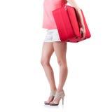 Preparação da jovem mulher Foto de Stock Royalty Free