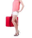 Preparação da jovem mulher Imagem de Stock Royalty Free