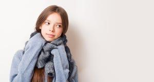 Preparar-se para o frio Fotografia de Stock Royalty Free
