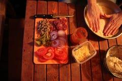 Preparate de la comida Imagen de archivo