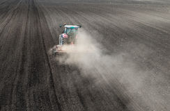 Preparation of agricultural land Royalty Free Stock Photos