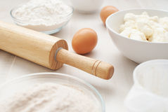 Preparation for baking Royalty Free Stock Images