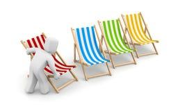 Preparation for beach season Stock Photo