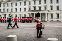 Preparation for Changing the Guard ceremony in London Stock Photo