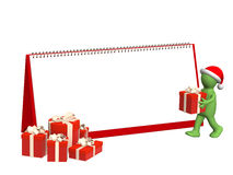 Preparation for Christmas Stock Image