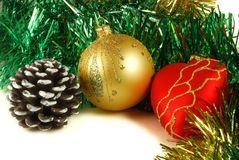 Preparation for christmas , decorations stock images