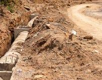 Preparation construction. Stock Photo