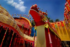 Preparation of Durga Festival Royalty Free Stock Photo