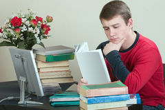 Preparation for examinations Stock Photos