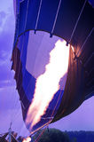 Preparation for the flight of the air balloon. Stock Photos