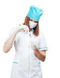 Preparation for injection Royalty Free Stock Photo