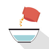 Preparation instructions icon Royalty Free Stock Image