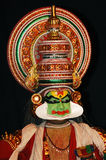 Preparation for  KATHAKALI dance Stock Photos