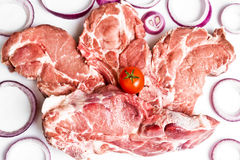 Preparation of meat Royalty Free Stock Image