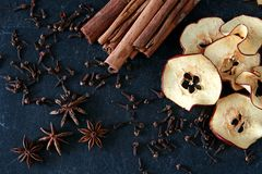 Preparation of mulled wine Stock Images