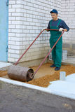 Preparation for a paving Royalty Free Stock Photography