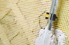 Preparation for plaster Stock Photo