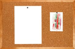 Preparation for a slide presentation stock image
