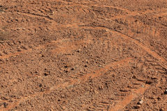 Preparation soil of land area Stock Photography