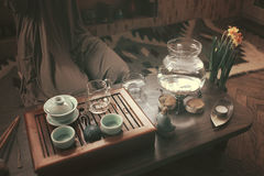 Preparation for tea ceremony Royalty Free Stock Photography