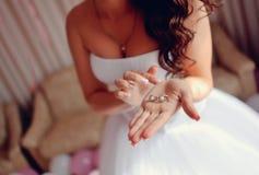 Preparation to wedding Stock Photos