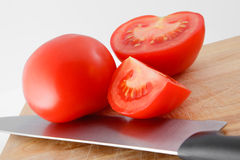 Preparation tomato Royalty Free Stock Photos