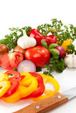 Preparation vegetables Royalty Free Stock Photography