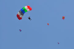 Preparation of World Military Parachuting Championship Royalty Free Stock Photo