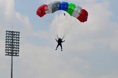 Preparation of World Military Parachuting Championship Stock Images