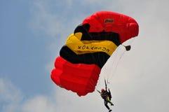 Preparation of World Military Parachuting Championship Stock Photo