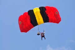 Preparation of World Military Parachuting Championship Royalty Free Stock Photos