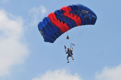 Preparation of World Military Parachuting Championship Royalty Free Stock Images
