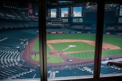Preparations for the baseball game. Stock Photography