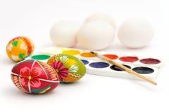 Preparations for Easter celebration Stock Images