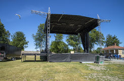 Free Preparations For Tons Of Rock (stage Rigging) Stock Photo - 41701720
