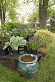 Preparations for Garden Stock Image