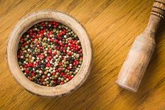Preparato colorato dei peperoni Immagini Stock Libere da Diritti