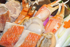 Preparato dei frutti di mare Immagine Stock