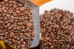 Preparato del caffè espresso Fotografie Stock Libere da Diritti