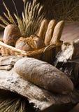 Preparato del pane Fotografia Stock Libera da Diritti