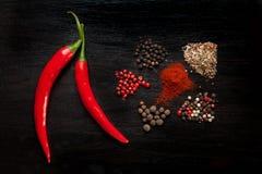 Preparato del pepe Fotografia Stock Libera da Diritti
