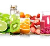 Preparato della bevanda di frutta Fotografie Stock